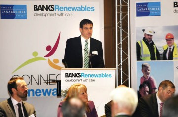 PR photos for Banks Renewables by Edinburgh public relations agency Holyrood PR
