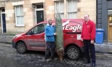 Edinburgh PR courier