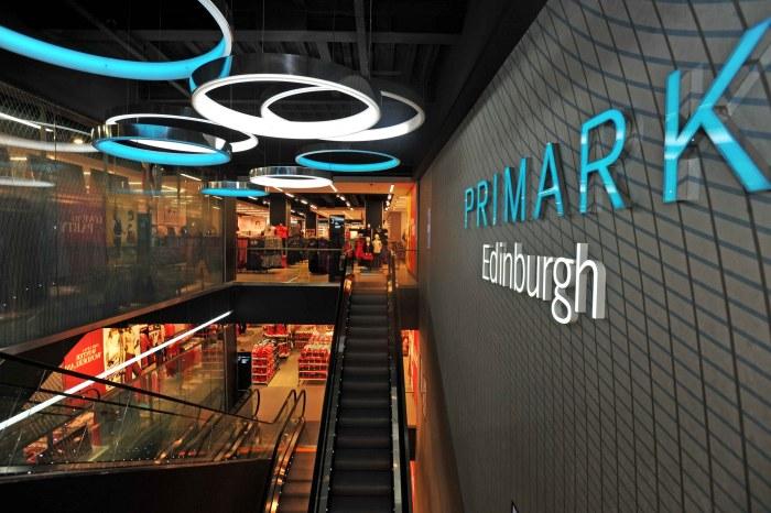 Edinburgh PR agency handled launch of flagship Primark store, including PR photography
