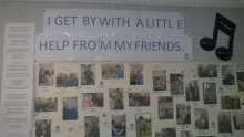Bupa Client Edinburgh PR Dementia Wall