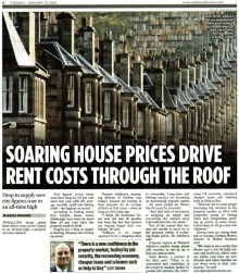 Edinburgh PR agency gets coverage for property solictors