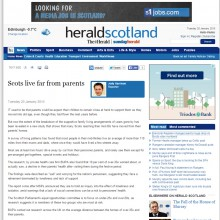 20 JAN Heraldscotland.com to use