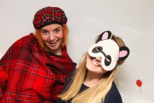PR Photography that shows creative Edinburgh PR Agency