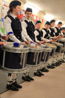 Scottish Schools Pipe Band Championship Edinburgh PR Agency Client