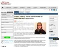 Venues PR Edinburgh covers food and drink pr story