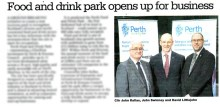 Edinburgh public relations agency launch successful business opening
