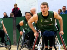 Lothian Phoenix Wheelchair Basketball Blackwood Edinburgh PR Client