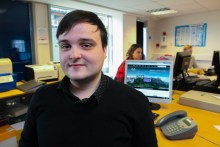 Holyrood PR Edinburgh intern Michael is learning from the PR experts