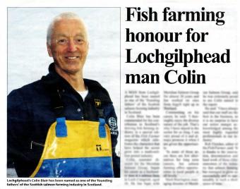 Media success for Meridian Salmon thanks to Edinburgh PR agency