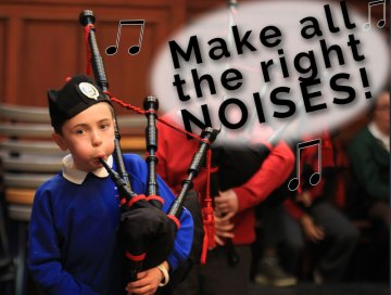 Scottish PR agency ensure Scottish Schools pipe band championship making a noise in the media