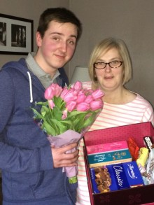 Mother's day social media competition winner