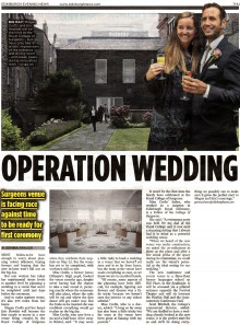 PR coverage by Scottish Agency in Edinburgh Evening News