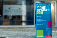 Award for Outstanding Small PR Consultancy in Scotland
