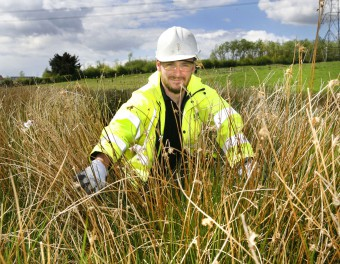Edinburgh PR Agency Banks - Glenboig Site Investigation, Russell Goodchild of Heritage Envir...