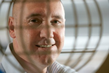 Ricky Nicol CEO of Commsworld smiling: Tech PR