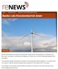 RENEWS media coverage of knockendurrick