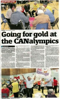 Bield West Lothian Courier Coverage, CANalympics