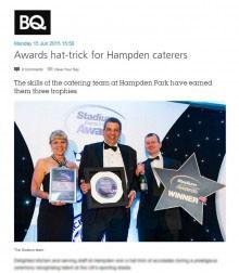 Holyrood PR in Edinburgh highlight awards success of catering giant