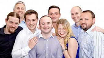 The team at Edinburgh IT company, Grant McGregor