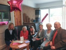 Curry loving 103-year-old Margaret Phillips | social care PR