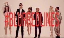 Blurred Lines music video still