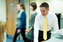 Bield showcase their staff with PR photgraphy