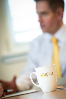 Bield showcase their staff with PR photgraphy