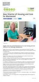 Angela Currie for PR Agency in Edinburgh
