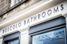 Boscolo Bathrooms showroom in Stockbridge