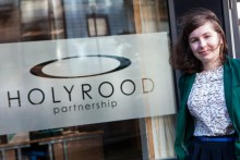 Holyrood PR in Edinburgh intern Lucy