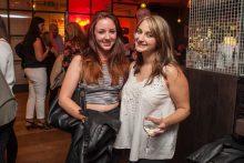 Hotel PR photograph of Emily Burns and Natasha Moss in Tigerlily, Edinburgh