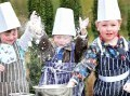 Edinburgh PR Bake Off - three children playing with flour