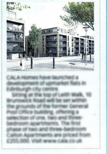 Edinburgh Housing PR