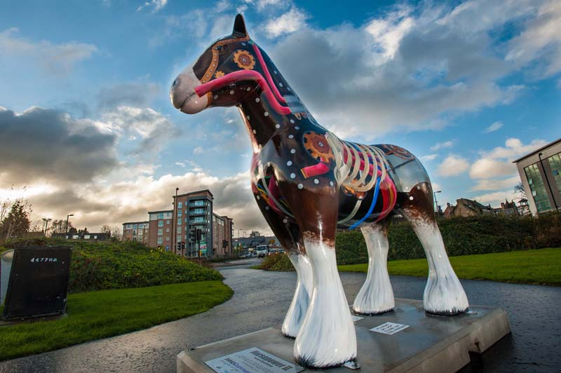 HorsepowerII, in the town centre, Hamilton. (c) Wullie Marr/HOLYROOD PR For pic details, contact Wullie Marr........... 07989359845