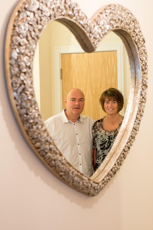 Alan and Sara enjoying their new CALA Home in Perth