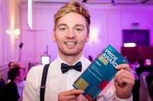 Ross Stebbing named Young Communicator of the Year at Chartered Institute of PR Awards 2015