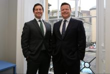 Legal PR photo of Glen Gilson and Matthew Gray, co-founders of Gilson Gray