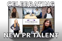Holyrood PR celebrating new PR talent