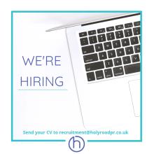 Edinburgh PR agency Holyrood PR is recruiting a senior account executive or experienced account executive