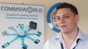 Commsworld celebrate 20th birthday with staff