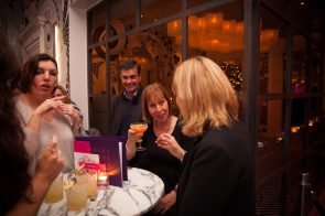 Hotel PR photograph of guests tasting delicious cocktail's at Tigerlily's cocktail masterclass