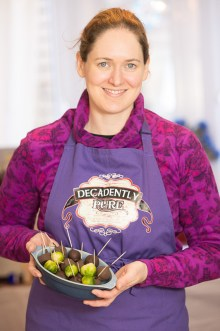 a finished bowl of chocolate covered sprouts that were srved at the Perth winter festival as part of a PR campain
