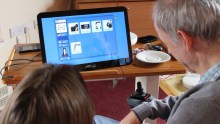 PR photography for Blackwood housing and care