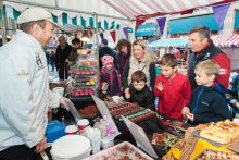 PR photography of a chocolat festival in Perth, by public reltions agency, Holyrood PR in Scotland
