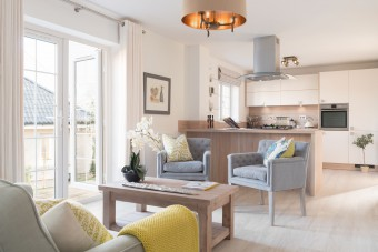 Cala Homes Kitchen and sitting area - Holyrood PR