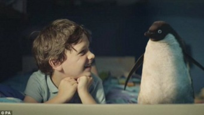 boy and penguin