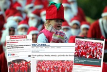 SANTA RUN PR SUCCESS POST FOR INVEST IN PERTH 2015