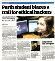 The Courier Lisa Student Hacker