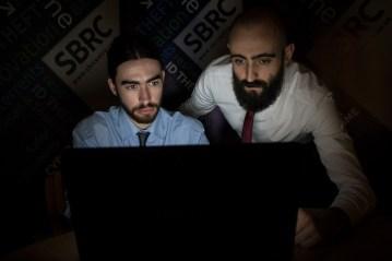 Tech PR photos of Ethical Hackers SBRC