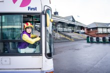 Transport PR photography for Musselburgh Racecourse